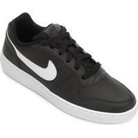 Tênis Nike Ebernon Low Masculino - Masculino-Preto+Branco