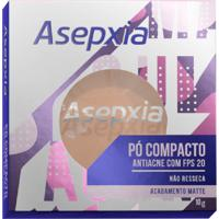 Pó Compacto Asepxia Antiacne Cor Bege Claro Fps20 10G