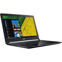 """Notebook 15.6"""" Acer A515-51-55Qd I5 4Gb/1Tb/Win10 Preto"""