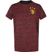 Camiseta Do Sport Recife Mixed - Infantil - Vermelho