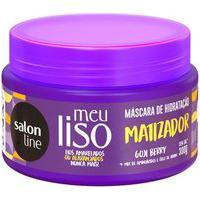 Máscara De Hidratação Meu Liso Salon Line Matizador