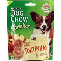 Biscoitos Dog Chow Carinhos Tortinhas Maçã - 75G