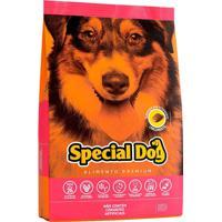 Ração Cães Filhotes Special Dog Premium Raças Grandes 5Un 3Kg