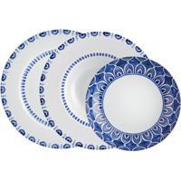 Jogo De Jantar De Porcelana Vista Alegre Azure - 3 Peças