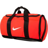 Mala Nike Team Duffle - Coral/Branco