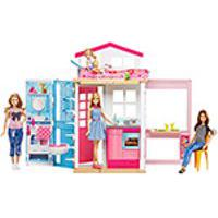 Barbie Real Barbie E Sua Casa Dvv48 - Mattel