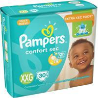 Fralda Pampers Confort Sec - 30 Unidades - Unissex-Incolor