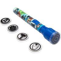 Jogo De Lanterna Projetora Avengers®- Azul & Verde Claroetilux
