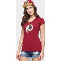 Camiseta New Era Nfl Babby Look Washington Redskins Feminina - Feminino