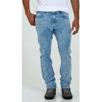 Calça Masculina Slim Jeans Marmorizado Marisa