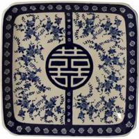 Prato De Parede Decorativo De Porcelana Tabor