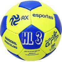 Bola De Handebol Ax Esportes Hl3 Costurada - Unissex