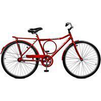 Bicicleta Master Bike Aro 26 Masculina Super Barra Manual Vermelho
