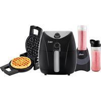 Kit Fun Fritadeira Waffle Blender Oster 220V