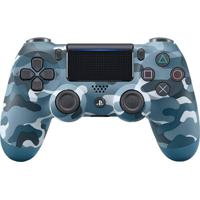 Controle Sem Fio Sony Dualshock 4 Para Playstation 4 Azul Camuflado
