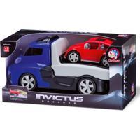 Caminhão Invictus - Veículo De Resgate Com Carrinho - Cardoso