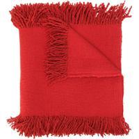 Uma Wang Echarpe Texturizada - Vermelho