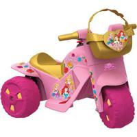 Moto Elétrica 6V Disney Princesas Bandeirante
