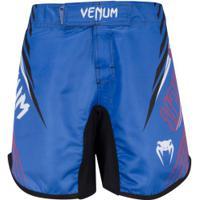 Bermuda Venum Muay Thai Flag Wave Masc - Azul