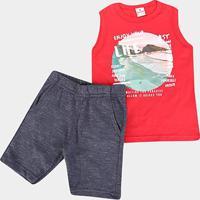 Conjunto Infantil Brandili Beach Masculino - Masculino