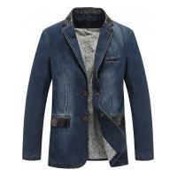 Blazer Jeans Masculino New Orleans - Azul Claro