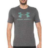 Camiseta Under Armour Tsh Ss Logo Masculina