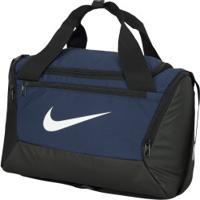 Mala Nike Brasilia Xs 9.0 - 27 Litros - Azul Esc/Preto