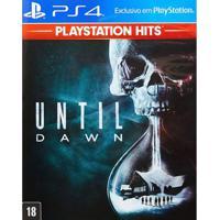 Jogo Ps4 - Until Dawn - Playstation Hits - Sony