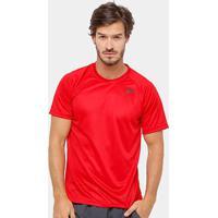 Camiseta Adidas D2M 3S Masculina - Masculino-Vermelho