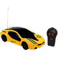 Carrinho De Controle Remoto Candide Hot Wheels Dreamer Amarelo 4+ 4532