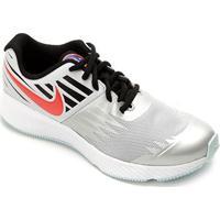 Tênis Infantil Nike Star Runner Masculino - Masculino-Laranja+Preto
