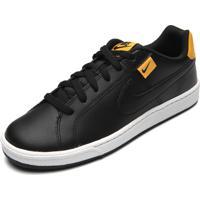Tênis Couro Nike Sportswear Court Royale Tab Preto