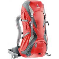 Mochila Cargueira Para Hiking 32 Litros Futura 32 Deuter - Unissex-Vermelho