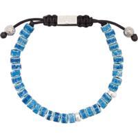 Nialaya Jewelry Pulseira De Contas - Azul