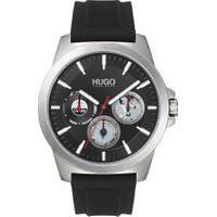 Relógio Hugo Boss Masculino Borracha Preta - 1530129