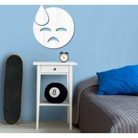 Espelho Decorativo Emoji Cansado