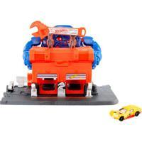 Pista Hot Wheels - Ataque De Gorila Na Garagem - Mattel