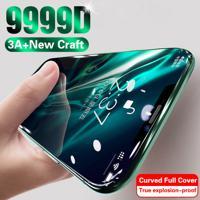 Capa Completa Para Iphone Em Vidro Temperado Modelo 6, 7, 8, 9, 11, X, Xs, Se 2020 E Mais Iphone 7 Plus