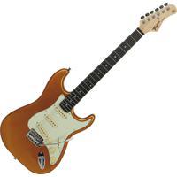 Guitarra Elétrica Tagima Stratocaster Tg-500 Madeira Dourado