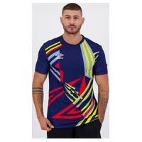 Camisa Umbro Twr Manchester 92 Marinho