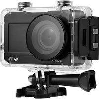 Câmera De Ação Action E Selfie 4K Wifi Lcd Átrio Dc191 2 Pol 16Mp