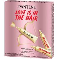 Kit Ampola De Tratamento Pantene Love Is In The Hair 3 Unidades 15Ml