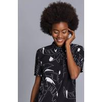 Camisa Manga Curta Estampa Square - Lez A Lez