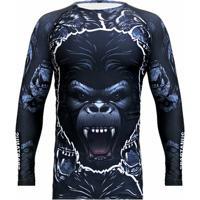 519a500307 Netshoes  Camiseta Rash Guard Gorilla Spartanus Fightwear - Masculino