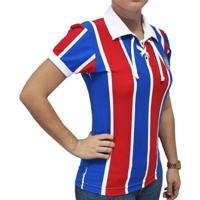 Camisa Retrô Mania Feminina Ec Bahia Cordinha - Feminino