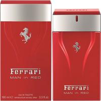 Perfume Man In Red Masculino Ferrari Edt 100Ml - Masculino-Incolor