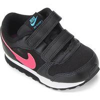 Tênis Infantil Nike Mid Runner 2 - Masculino-Preto+Roxo