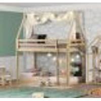 Beliche Montessoriano Prime Com Telhado Vi Natural - Casatema