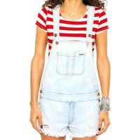 Jardineira Jeans Colcci - Feminino-Jeans