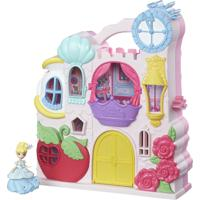 Playset Com Figuras - Princesas Disney - Little Kingdom - Mini Castelo Da Cinderela - Hasbro - Feminino-Incolor
